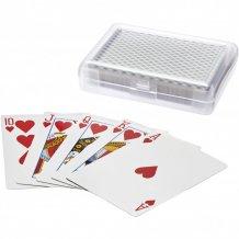 Balíček karet Reno v krabičce, černá/průhledná