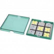 Magnetické piškvorky Winnit, zelená/průhledná