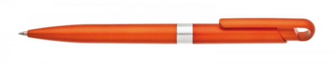 Propiska plast FIROL, oranžová