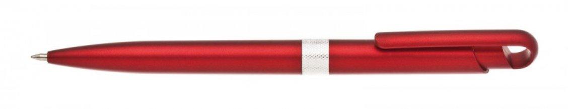 Propiska plast FIROL, červená