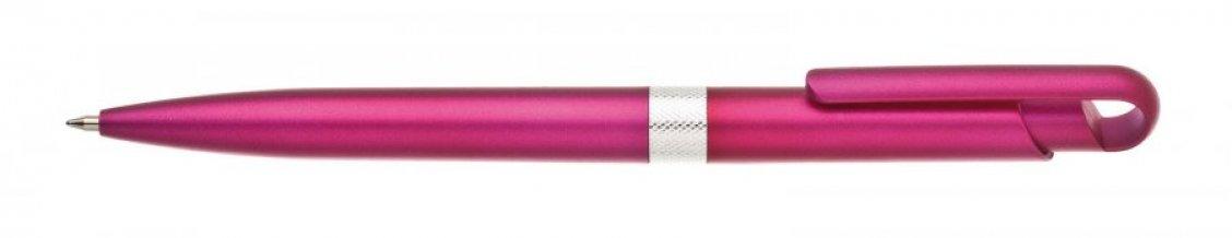 Propiska plast FIROL, růžová