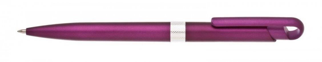 Propiska plast FIROL, fialová