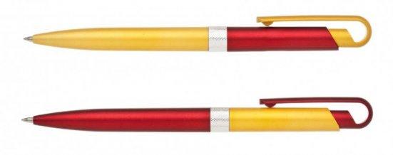 Propiska plast FIROL KOMBINACE  50+50 ks, červená