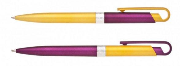 Propiska plast FIROL KOMBINACE  50+50 ks, fialová