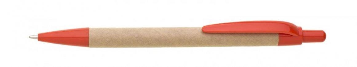 Propiska papírová VIRON METALIC, červená