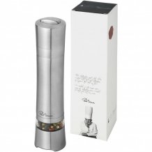 Elektrický mlýnek na pepř Solo, šedá