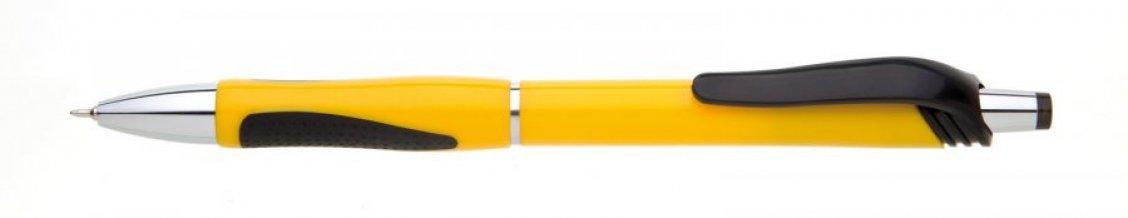 Propiska plast NERA, žlutá