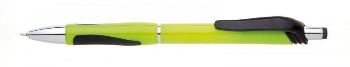 Propiska plast NERA, zelená světlá