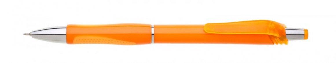 Propiska plast FLORI s náplní semigel, oranžová