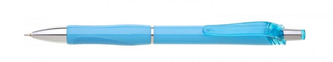 Propiska plast FLORI s náplní semigel, modrá
