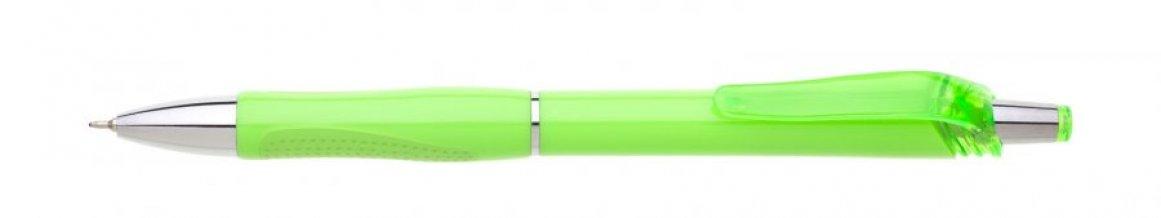 Propiska plast FLORI s náplní semigel, zelená