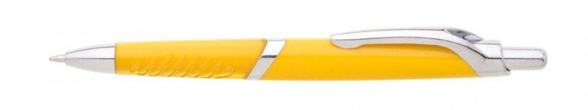 Propiska plast CARPI /D, žlutá