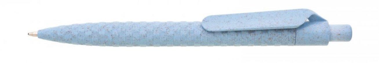 Propiska sláma/plast AVENA, modrá