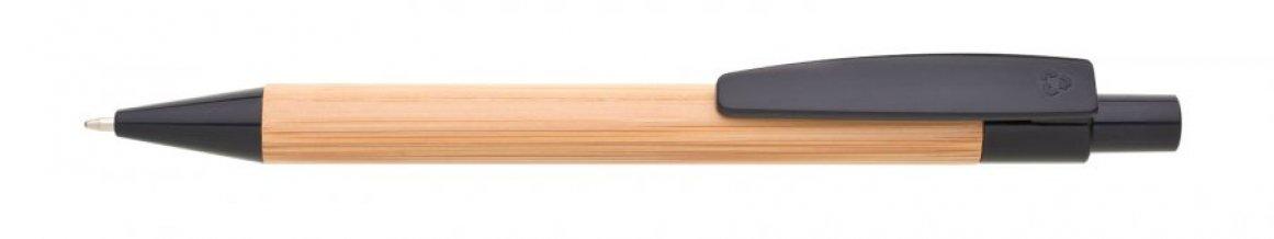 Propiska bambus/plast BORGO, černá
