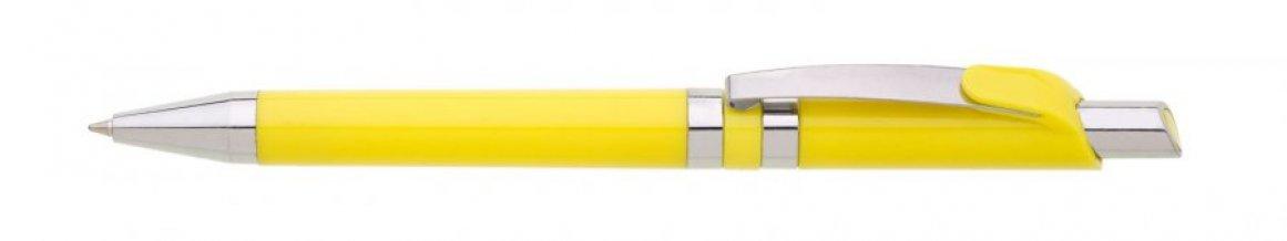 Propiska plast ROMA /D, žlutá