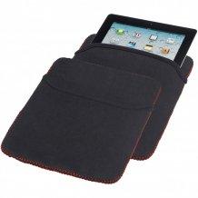 Oboustranný obal Zigzag na tablet, černá/červená