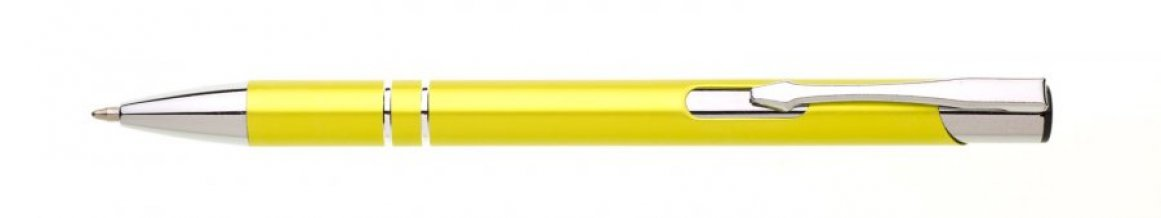 Propiska kov ALBA, žlutá