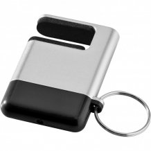 Čistítko displeje a držák telefonu Gogo, šedá/černá
