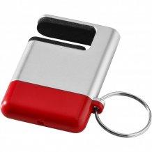 Čistítko displeje a držák telefonu Gogo, šedá/červená