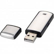 USB Square, 4 GB, šedá/černá