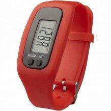 Chytré hodinky s krokoměrem Get-Fit, červená