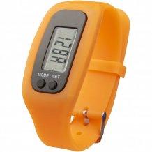 Chytré hodinky s krokoměrem Get-Fit, oranžová