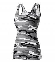 Triumph tílko dámské, camouflage gray
