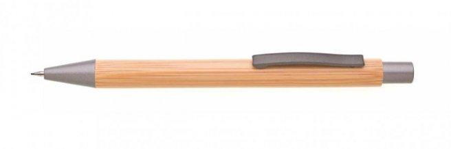 Mikrotužka bambus/kov RIVET, šedá