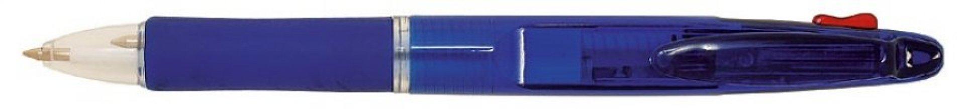 Propiska plast 2v1 BARNA transparentní, modrá