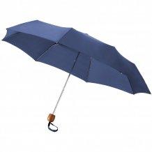 """Trojdílný deštník 21,5"""", modrá"""