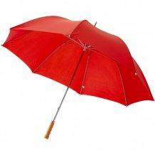 """30"""" golfový deštník Karl s dřevěnou rukojetí, červená"""