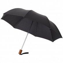 """20"""" skládací deštník Oho, černá"""