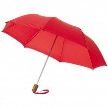 """20"""" skládací deštník Oho, červená"""