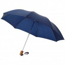 """20"""" skládací deštník Oho, modrá"""