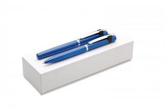 Dárková sada kov BP+RP ELEGA, modrá