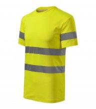 HV Protect tričko unisex, reflexní žlutá