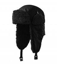 Furry čepice unisex, černá