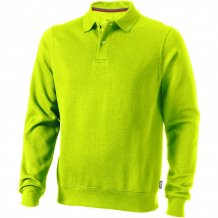 Košilová mikina Referee, zelená