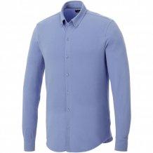 Pánská košile Bigelow s dlouhým rukávem, modrá