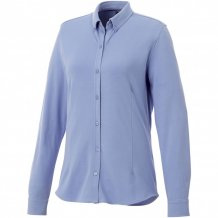 Dámská košile Bigelow s dlouhým rukávem, modrá