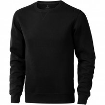 Urrey unisex svetr s kulatým výstřihem, černá
