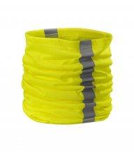 HV Twister šátek unisex, reflexní žlutá