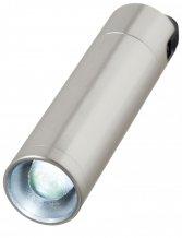 TORCH, přívěsek na klíče - svítilna 0,5W /D, stříbrná