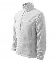 Jacket fleece pánský, bílá