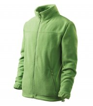 Jacket fleece dětský, trávově zelená