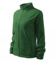 Jacket fleece dámský, lahvově zelená
