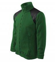 Jacket Hi-Q fleece unisex, lahvově zelená
