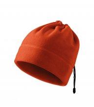 Practic fleece čepice unisex, oranžová