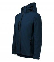 Performance softshellová bunda pánská, námořní modrá