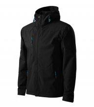 Nano softshellová bunda pánská, černá